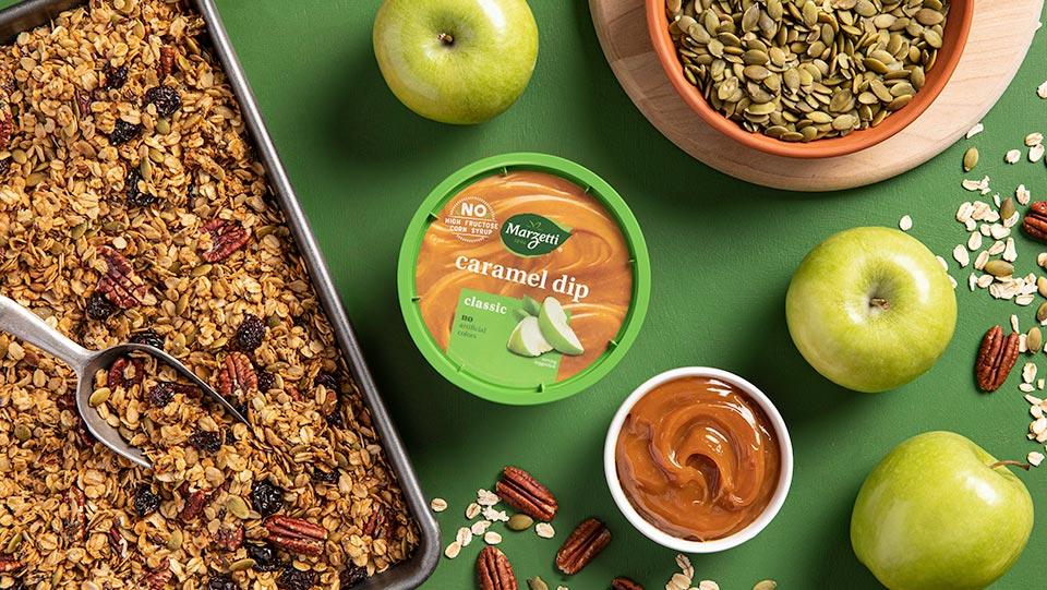 Caramel Pumpkin Seed Granola HeroB 960x540 1